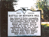 The Battle of Boykin's Mill
